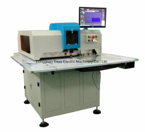 4-Pins CNC Leather Shoe Hole Punching Processing Making Machine pictures & photos