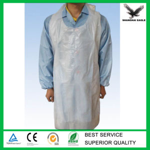 Custom Plastic Disposable Doctor Apron pictures & photos