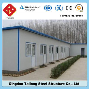 China Multi-Storey Portable Steel Sandwich Panel Prefabricated House pictures & photos