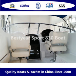 Bestyear Sport 830 Boat for Pleasure pictures & photos