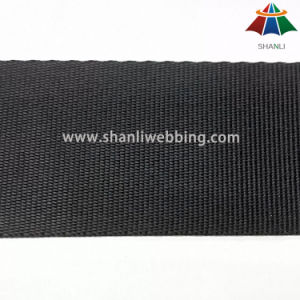 Have in Stock! 38mm Black Tiny Woven Nylon Webbing pictures & photos