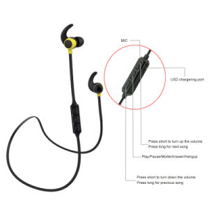 V4.2 Wireless Bluetooth Earphone with Microphone pictures & photos