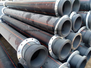 HDPE Dredging Pipe with Flange pictures & photos