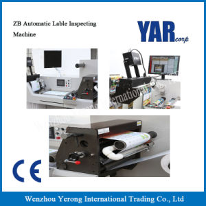 High Quality Zb-320 Automatic Label Inspecting Machine with Ce pictures & photos
