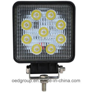 27W High Quality Low/Cheaper Price LED Work Light, Headlights pictures & photos