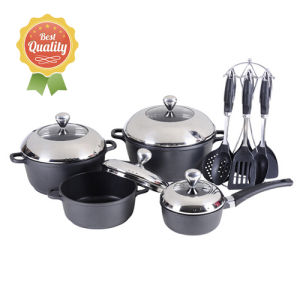 Aluminum Non-Stick Cookware Set pictures & photos