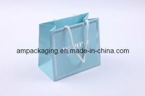 Vanishing Fancy Paper Packaging Shopping Bag with Cotton Handles pictures & photos