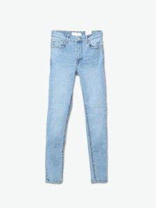 High Waist Slim Fit Jeans for Women pictures & photos