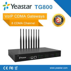 Yeastar 4 GSM Ports Asterisl SIM Cards VoIP CDMA Gateway (NeoGate TG800) pictures & photos