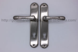 Aluminum Handle on Iron Plate 053 pictures & photos
