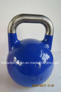 Competiton Kettlebell with Hole pictures & photos