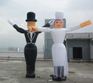 Wedding Inflatable Married Couple Air Dancers (K1012) pictures & photos