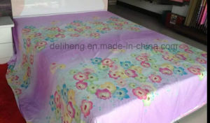 Soft Handfeeling 100% Cotton Printed Wide Width Bedsheet Fabric for Beddings pictures & photos