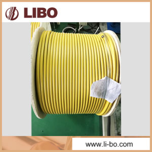75-10 VHF Leaky Feeder Cable with Fire Retardant Jacket pictures & photos
