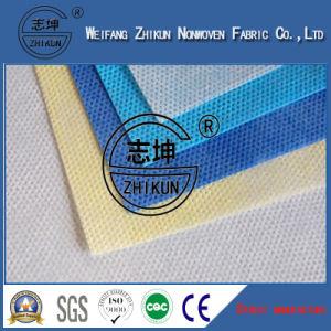 100% Polypropylene PP Non Woven Fabric in Cross Design pictures & photos