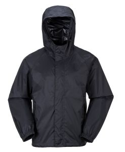 PU Waterproof Black Raincoat pictures & photos