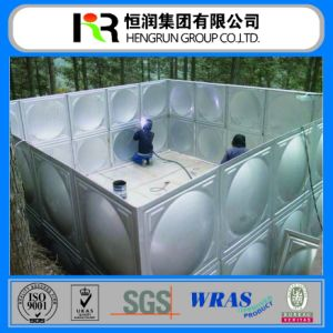 Hot Sale! GRP SMC Sectional Fiberglass Water Storage Tank/FRP Sectional Panels Tank Price pictures & photos