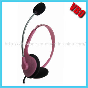 Mini Children Headphones with Microphone (VB-071M) pictures & photos
