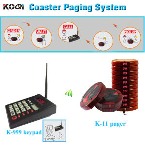New Arrive Durable Transmitter and Receiver Wireless Coaster Pager System pictures & photos