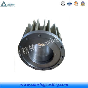 Cast Aluminum Motor Shell/Motor Housing/Motor Frame pictures & photos
