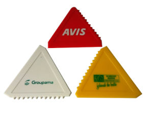 Triangle Shape Hot Sale Ice Scraper for Promotional pictures & photos