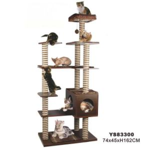High Fashion Cat Tree House (YS83300) pictures & photos