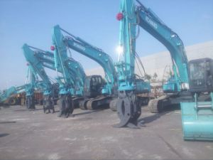 CE Certificate Hydraulic Grapple, Log Grapple, Stone Grapple Fits to Excavator in 20-30 Tons pictures & photos