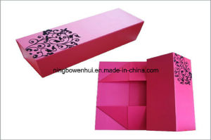 Manufacture Folding Gift Paper Wine Box pictures & photos