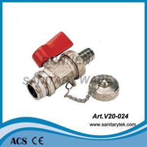 Brass Drain Ball Valve for Boiler (V20-024) pictures & photos