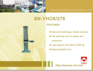 Elevator Oil Buffer (SN-YHC6/275) pictures & photos