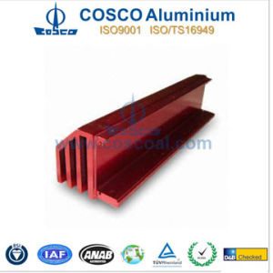 Aluminium Heat Sink with Color Anodizing pictures & photos