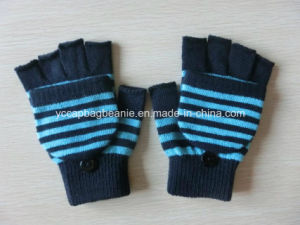 100%Acrylic Fingerless Knitted Warm Glove pictures & photos