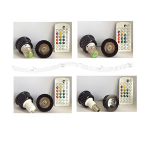 4W RGB Light with Remote Control pictures & photos