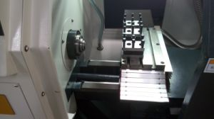 Economical Horizontal Mini CNC Lathe for Metal Cutting (CJ0626/JD26) pictures & photos