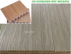 New Wood Plastic Composite Decking Flooring pictures & photos
