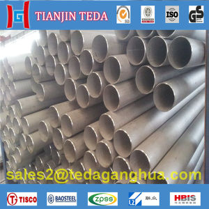 Ss 304 Stainless Steel Seamless Pipe Tube for Industrial pictures & photos