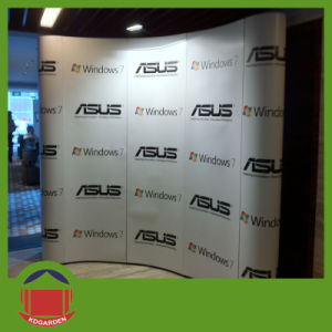 Outdoor Display Product Curved Wall Banner pictures & photos