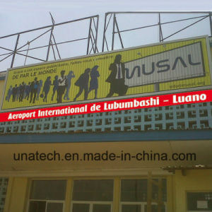 Innovative Media Advertising Sign Airport Sliding Prisma Vinyl PVC Tri-Vision Billboard pictures & photos