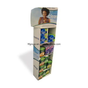 Fashion Design Cardboard Cosmetic Counter Display pictures & photos