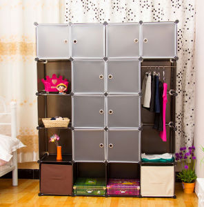 Brown and White Plastic Storage Organizer, Home Storage Products pictures & photos