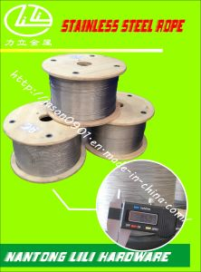 Wire Rope (stainless steel) Stainless Wire Rope Steel Rope Stainless Steel Wire pictures & photos