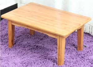 Simple Design Square Table /Bamboo Table /Tea Table (QW-PCSG05) pictures & photos