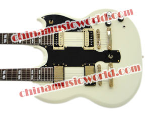 Afanti Music Double Neck Sg Electric Guitar (ASG-099) pictures & photos