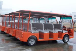 Dongfeng 11 Person Electric Sightseeing Bus with CE Certificate for Sale