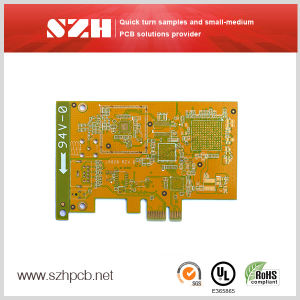 Qualified Double Sided with Lead HASL PCB Supplier pictures & photos