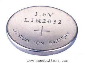 3.6V Rechargeable Li-ion Button Battery Lir1220 pictures & photos