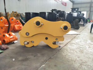 Excavator Attachment of Double Safe Pin Quick Coupler pictures & photos