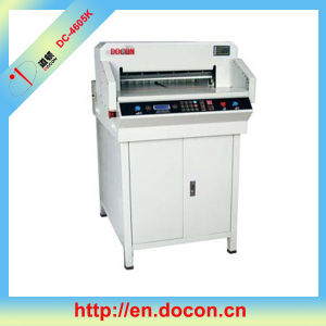 Electric Digital Paper Guillotine Machine pictures & photos
