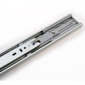 45mm Wide Ball Bearing Telescopic Channel Rail for Wooden Cabinet pictures & photos