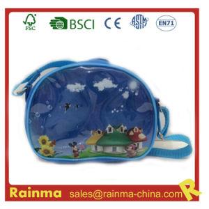 Transparent PVC Shoulder Bag for Boy pictures & photos
